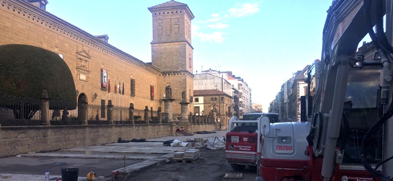 obra hospital de úbeda excavaciones vladimir